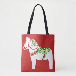 Weiße Dala PferdeTaschen-Tasche Tasche