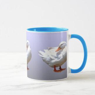 Weiße Ente Tasse