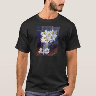Weiße Gänseblümchen T-Shirt