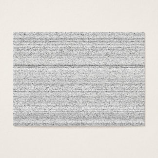 Weiße Geräusche. Schwarzweiss-Snowy-Korn Jumbo-Visitenkarten