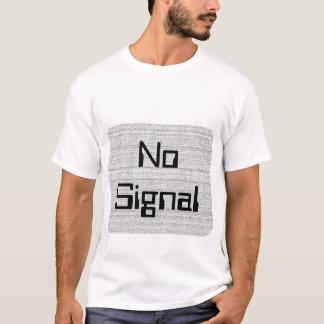 Weiße Geräusche. Schwarzweiss-Snowy-Korn T-Shirt