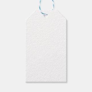 Weiße Geschenk-Umbauten Geschenkanhänger