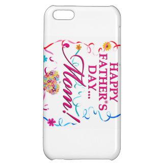Weiße glückliche Vatertag MAMMA IPOD oder IPhone iPhone 5C Hüllen
