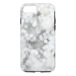 Weiße graue Bokeh Apple iPhone 7 starker