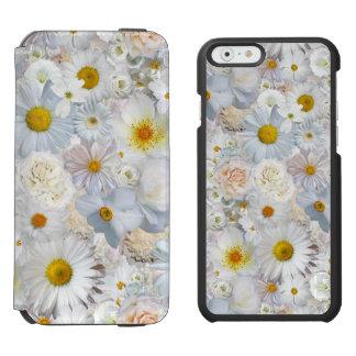 Weiße Incipio Watson™ iPhone 6 Geldbörsen Hülle
