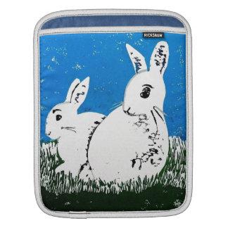 Weiße Kaninchen iPad Hülse Sleeves Für iPads