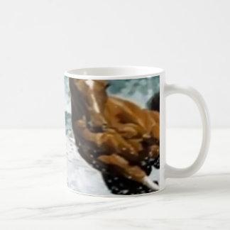 weiße klassische Tassengewohnheit Kaffeetasse