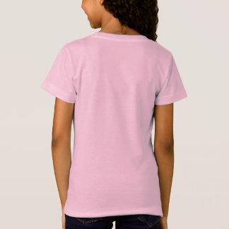 weiße Kontur T-Shirt