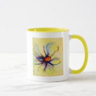 Weiße Magnolien-Blumen-multi Farbe Tasse