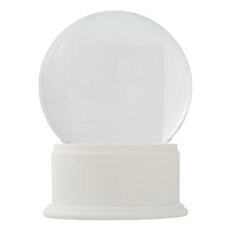 Weiße Onyx-Schnee-Kugel Schneekugel
