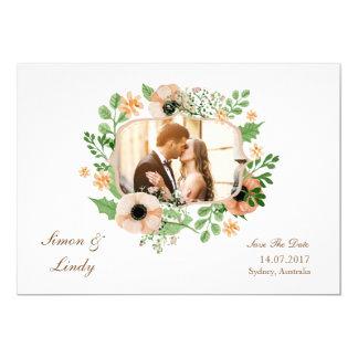 Weiße reine elegante Hochzeits-Einladungs-Karte Karte