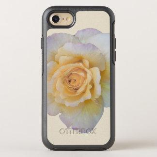Weiße Rosen-BlumenBlume OtterBox Symmetry iPhone 8/7 Hülle