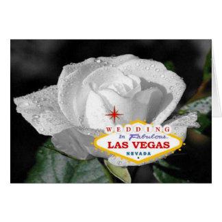 Weiße Rosen-Hochzeit in fabelhafter Las- Karte