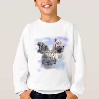 Weiße Tiger Sweatshirt