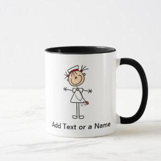 Weiße weibliche Geschenke der Tasse