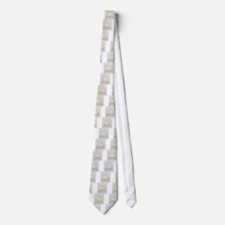 Weiße wollige Schafe für Mutterschaf Bedruckte Krawatte