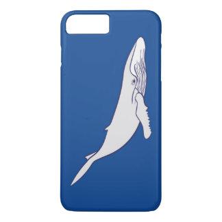 Weißer Buckelwal iPhone 8 Plus/7 Plus Hülle