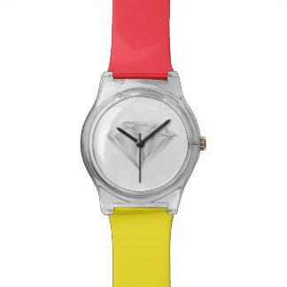 Weißer Diamant für meinen Schatz Armbanduhr