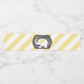 Weißer Elefant Bogen-Krawatte diagonale