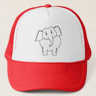 Weißer Elefant Truckerkappe