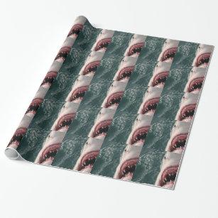 Weißer Hai Geschenkpapier