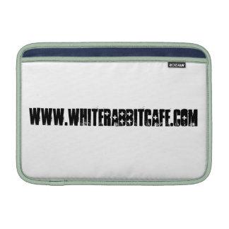 Weißer Kaninchen Macbook Luft-Kasten Sleeve Fürs MacBook Air