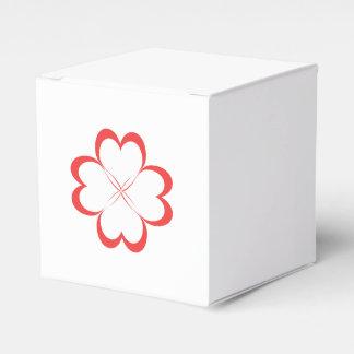 weißer Kasten Geschenkschachtel