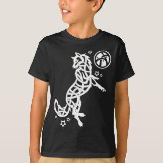 Weißer keltischer Stammes- Wolf T-Shirt