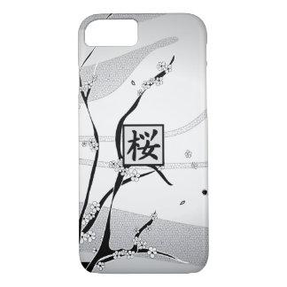 Weißer Kirschblüten-Baum iPhone 8/7 Hülle
