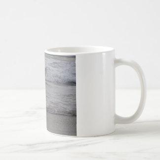 Weißer Kran Kaffeetasse