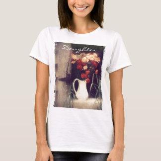 weißer Krug Pint, Tochter T-Shirt