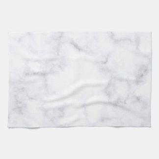 Weißer Marmor Handtuch