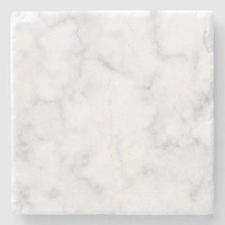 Weißer Marmor Steinuntersetzer