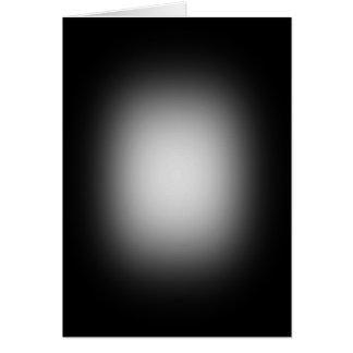 Weißer Scheinwerfer auf Schwarzem Karte