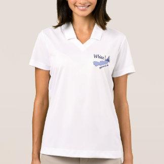 Weißer See bei Whitehall MI Polo Shirt