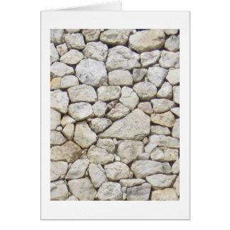 Weißer Stein Karte
