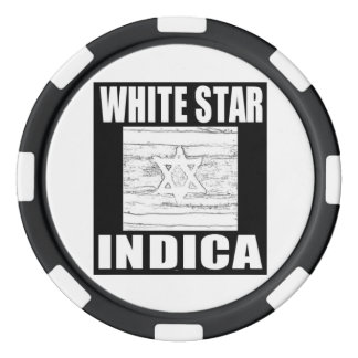 WEISSER STERN INDICA POKER CHIPS SET