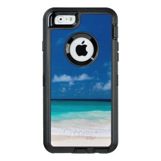 Weißer Strand, Türkiswasser und blauer Himmel OtterBox iPhone 6/6s Hülle