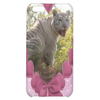 Weißer Tiger-Speck-Kasten