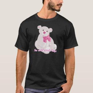 Weißer u. rosa Teddybär T-Shirt