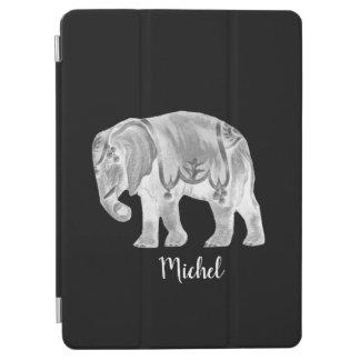 Weißer Zirkus-Elefant iPad Pro Cover