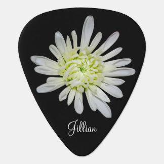 Weißes BlumenPlektrum Plek