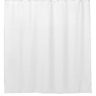 weißes einfaches showercurtain duschvorhang