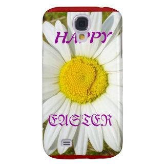 Weißes Gänseblümchen-glückliche Ostern-Produkte Galaxy S4 Hülle