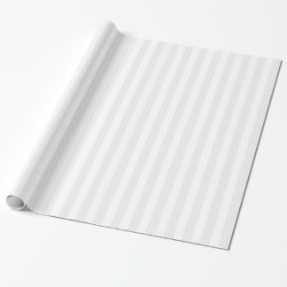 Weißes gestreiftes Packpapier