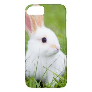 Weißes Kaninchen iPhone 8/7 Hülle