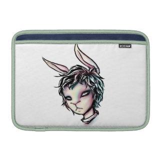 Weißes Kaninchen MacBook Sleeves