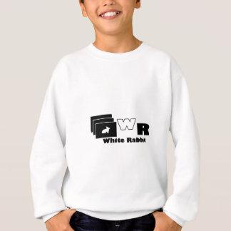 weißes Kaninchen Sweatshirt