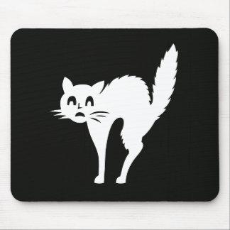 Weißes Katzen-Haustier-niedliche Mousepad