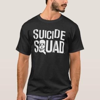 Weißes Logo der Selbstmord-Gruppen-| T-Shirt